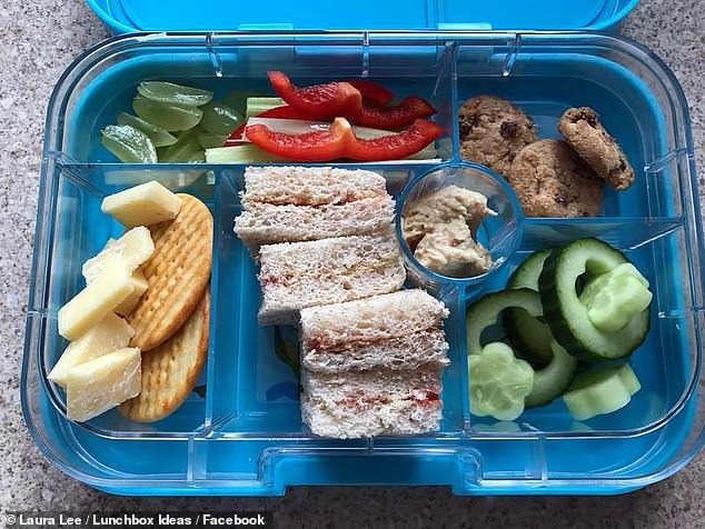 Mother's anger after three mini cookies in her son's lunchbox was sent HOME by his nursery for being too 'unhealthy.' 1