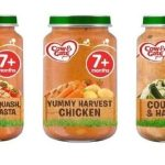 COW & GATE PRODUCT RECALL - TESCO RECALL 7+ MONTHS COW & GATE BABY FOOD JARS 200G