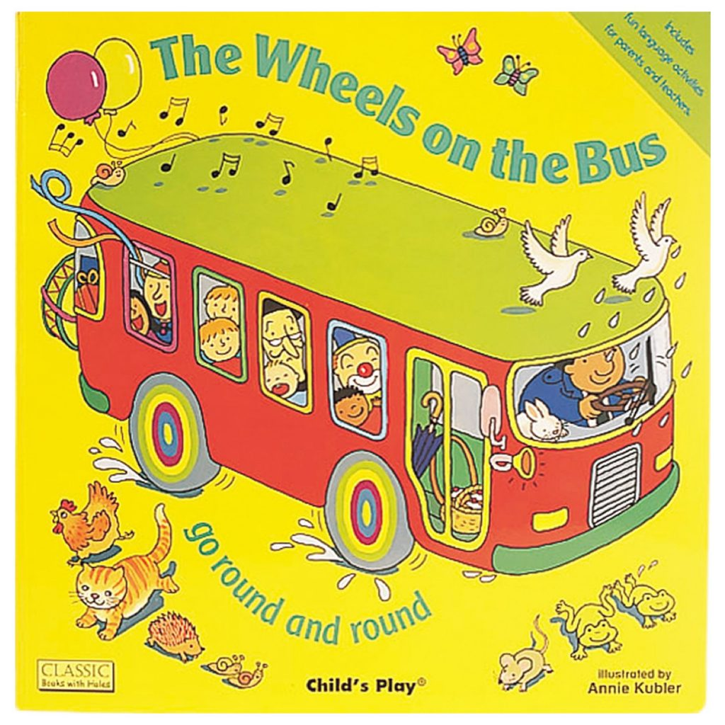 The Wheels on the Bus by Annie Kubler - Best Books for a 1 Year Old