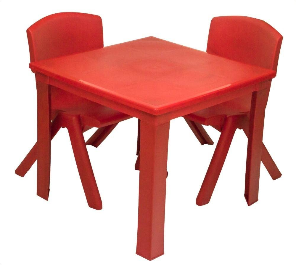 A406 Kids Children Plastic Table and Chairs