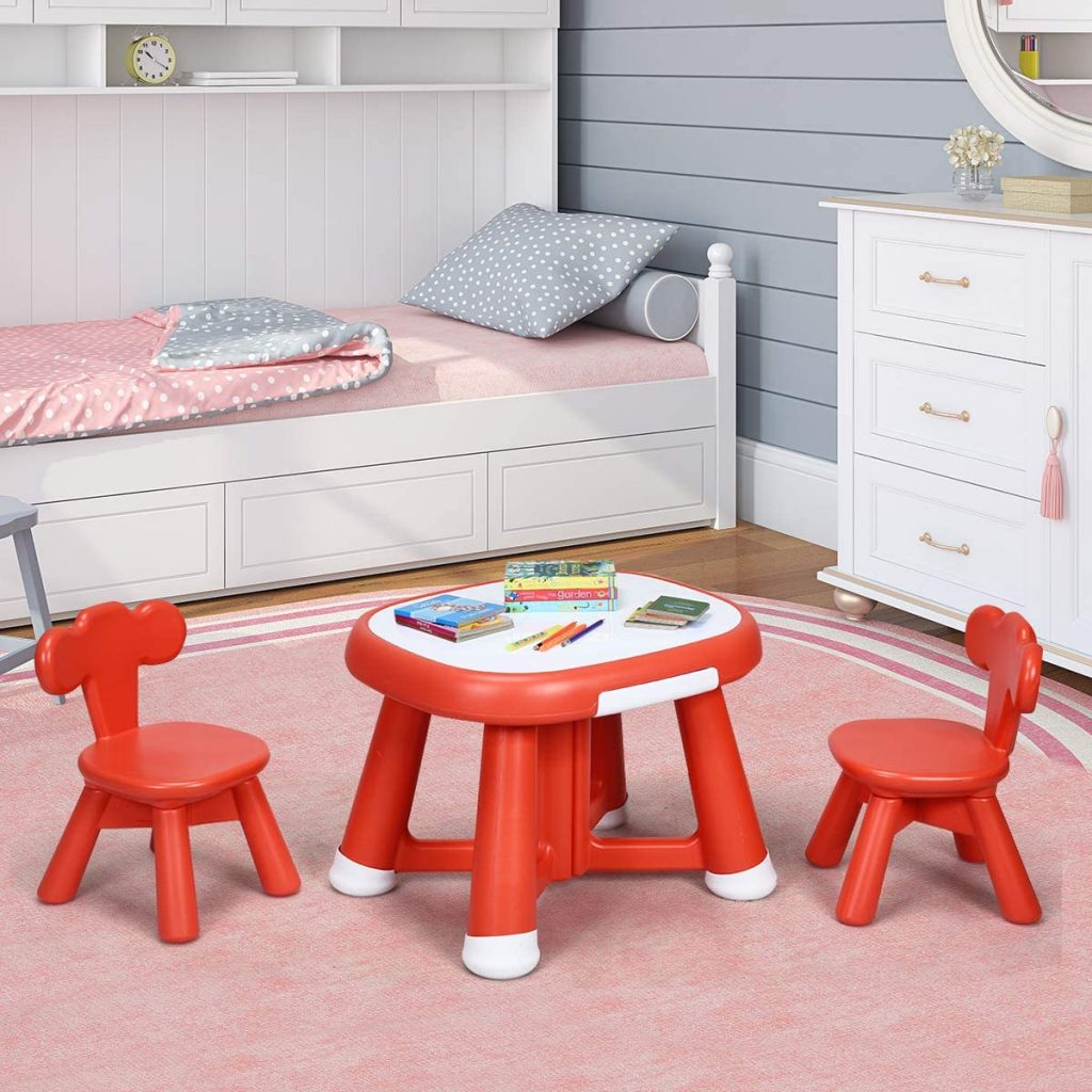 Costway Kids Table and Chairs Set - The Best Table and Chair For Kids